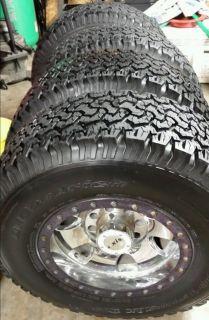 Axis Warlock Wheels and BFG All Terrain Tires