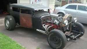 1930 Model A Rat Rod Hot Rod Roadster Project Chevy 350 Chopped