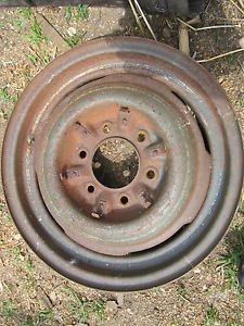 "30s 40s 50s Chevy GMC Truck Car 16x4"" 6 Lug Steel Wheels Rims Rat Rod"