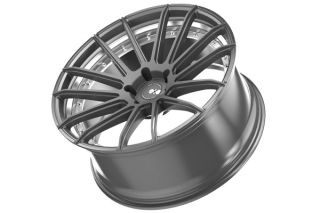 "22"" XO Monaco Gunmetal Concave Staggered Wheels Rims Fits BMW E70 x5 X5M"