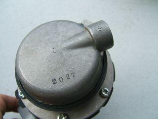Pleasurecraft Marine Fuel Pump Chevy Small Block Carter M60485 RA080009A