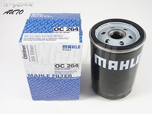 1pc Mahle Oil Filter OC 264 with Crush Washer