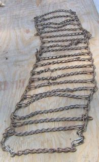 Cub Cadet etc Tire Chains 23x10 50x12 for Mud or Snow