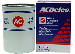 70 93 Chevrolet GMC Jimmy Transmode AC Delco Oil Filter PF35 Quality New