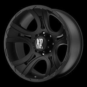 "20"" x 9"" XD801 Crank Rims w 33x12 50x20 Toyo Open Country MT Wheels Tires"