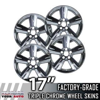 "2008 2011 Toyota Matrix 17"" Chrome Wheel Skins Covers"