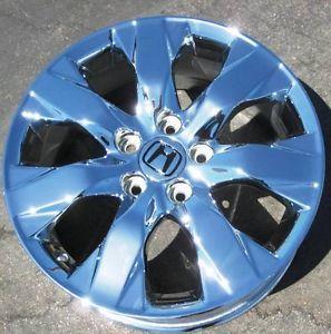 "Exchange Your Stock 4 17"" Factory Honda Accord Chrome Wheels Rims 63934"