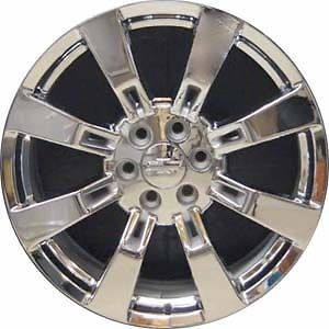 "22"" Chrome Wheels Rims Chevy Tahoe Suburban Avalanche Silverado GMC Sierra"