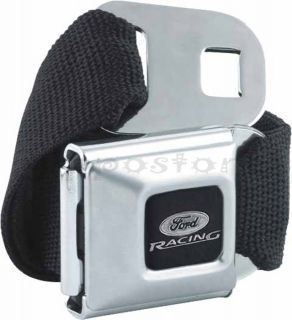 Ford Racing Car Automotive Logo Seatbelt Belt Buckle Officially Licensed