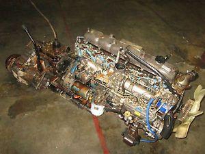 Toyota Land Cruiser Dyna JDM 2H 4 0L Inline 6 Diesel Engine Motor Transmission