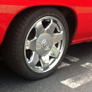 "17"" Cadillac Escalade Chrome Wheels Rims 215 45 17 D21 Mighty Max Pickups"
