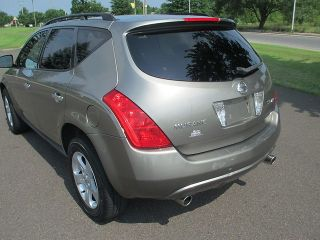 2003 Nissan Murano SL AWD Leather Heated Seats Power Seats Sunroof No Reserve