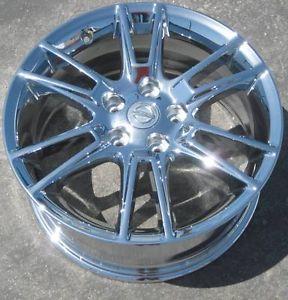 "Exchange Your Stock 4 New 17"" Factory Nissan Altima Chrome Wheels Rims 62485"