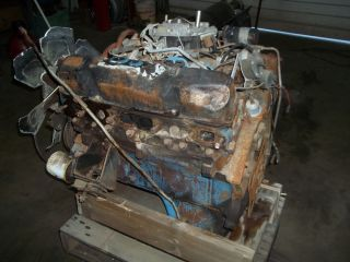 1978 Dodge Plymouth 440 Engine