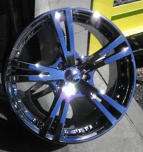 "17"" inch 5x110 Phantom Chrome PVD Wheels Rims 5 Lug Pontiac Chevy Cobalt Saturn"