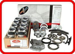 00 03 Dodge RAM Dakota Durango 4 7L SOHC V8 Engine Rebuild Kit w O Timing