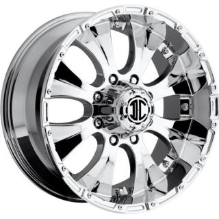 18x9 Chrome Xtreme NX 2 8x6 5 12 Wheels Nitto Trail Grappler 285 65 18 Tires