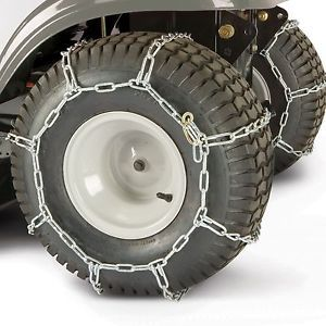 Quick Grip QG0226 Tire Chains for Garden Tractors Snow Blowers