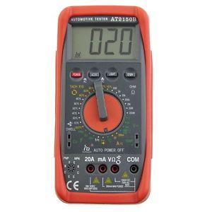 AT2150B Digitall Tachomete Meter Tach Dwell Testers Multimeter