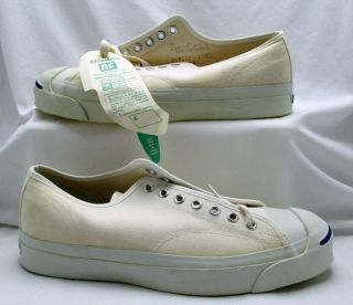 Vintage BF Goodrich Jack Purcell Pre Converse Tennis Shoes Tags Men's 8 5