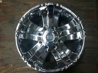 "American Racing Wolverine Wheel AR645 18"" Chrome Wheel"