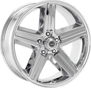 16 inch Chrome VN690 Wheels Rims 5x5 5x127