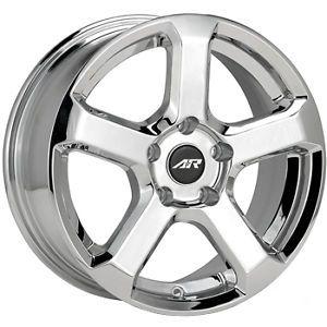 17x7 5 Chrome American Racing AR896 Wheels 5x110 45 Saturn Astra ion Redline