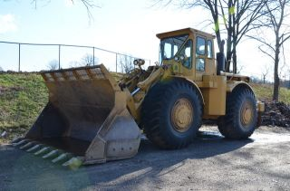 Rebuilt Cat 988 Loader with 7 CU yd Rock Bucket
