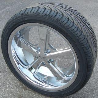 "18x9"" Chrome American Racing Nova Wheels Rims Nexen N3000 Tires Camaro Corvette"