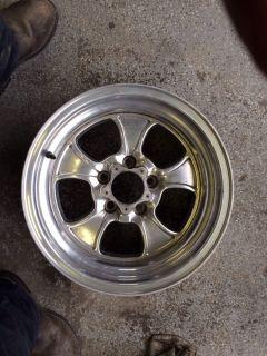 One 15 inch American Racing Hopster Wheel