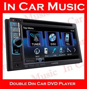 Kenwood Double DIN Bluetooth Car CD DVD Player Radio USB Aux in iPod  Stereo