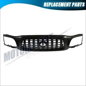 Front Grille Toyota Tacoma 01 04 Dlx Pre Runner Black Body Parts TO1200250