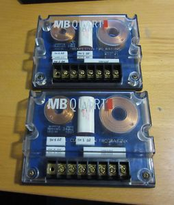 MB Quart Crossover Xover Car Audio Speaker High End Pair