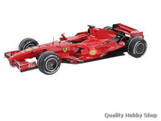 Revell 1 24 Ferrari F2007 Formula 1 Car Model Kit 7252