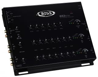 New Boss EQ600 6 Channel 20 Band Car Graphic Pre Amp Equalizer Processor EQ
