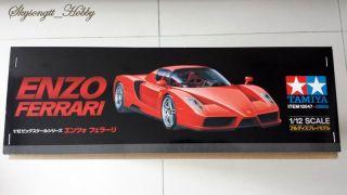 Tamiya 12047 Ferrari Enzo 1 12 Big Scale Racing Car Model Kit MISB w P E Parts