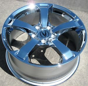 """Exchange Your Stock 4 18"""" Factory Acura TL Chrome Wheels Rims 2009 12 71786"""