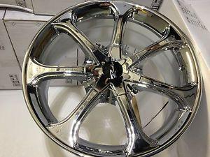 17 inch Chrome Raceline Wheels Rims Chrysler PT Cruiser Sebring Town Country
