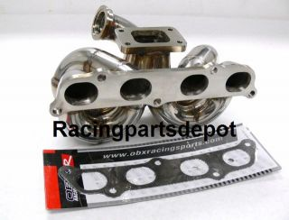OBX Equal Length Turbo Header Manifold 00 05 GTS Celica on
