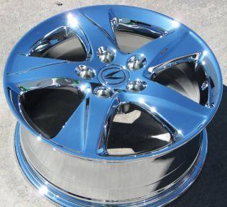 "4 New 17"" Factory Acura TSX TL Accord CL Chrome Wheels Rims CR V MDX 71781"