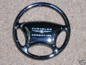 Chrysler Crossfire Steering Wheel Keychain Keyring