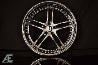 22 inch Bentley Continental GT GTC Wheels Rims and Tires Black
