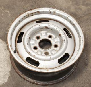 1967 Chevrolet Corvette Large DC Coded 15x6 Rally Wheel