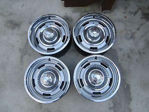 4 Chevy Chevelle SS Camaro Z28 Nova El Camino Rally Wheels 15x7 Rims RARE