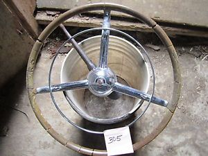 1948 1950 Chrysler Fluid Drive Steering Wheel
