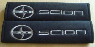 Scion Car Truck Embroidered Seat Belt Shoulder Cover Pads