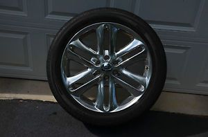 """4 2013 Genuine Factory 22"""" Ford F 150 Limited Wheels Rims Tires"""