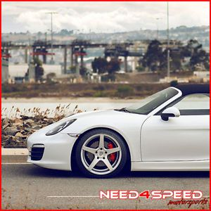 "19"" Porsche 996 911 Carrera 4 s Avant Garde M550 Concave Silver Wheels Rims"