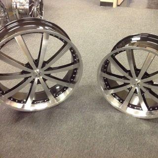 """22"""" Wheels Tires Rims Starr 526 B Honda Hyundai Infiniti Jaguar Lexus Mazda"""