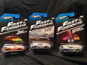 Hot Wheels 2013 Fast and Furious Paul Walkers Nissan Skyline Nissan GTR Supra